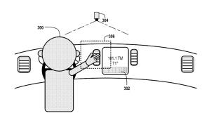 Google Driverless: Autofahren per Gestensteuerung©US Patent & Trademark Office/Google