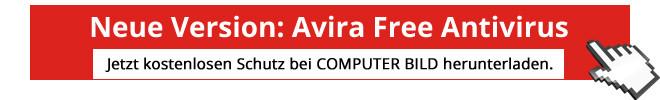 Download-Aktions-Grafik – Avira Free Antivirus©COMPUTER BILD