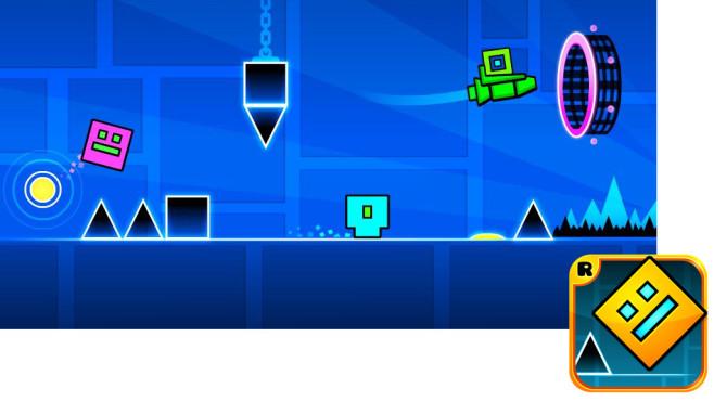 Geometry Dash ©Rob Top Games