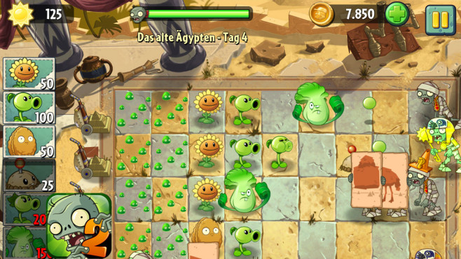 Plants vs Zombies 2 ©PopCap