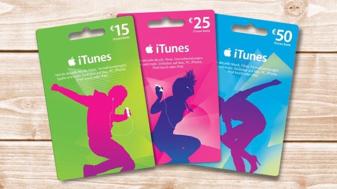 iTunes-Karten©COMPUTER BILD