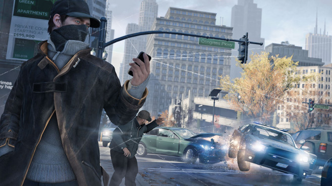 Actionspiel Watch Dogs: Smartphone © Ubisoft