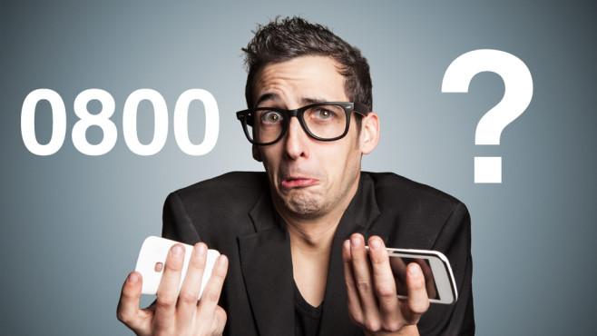 sind 0800 nummern kostenlos