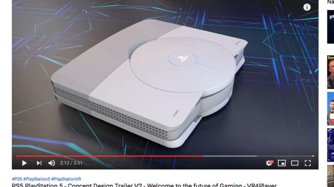 PS5: Design-Konzept©VR4Player.fr / YouTube