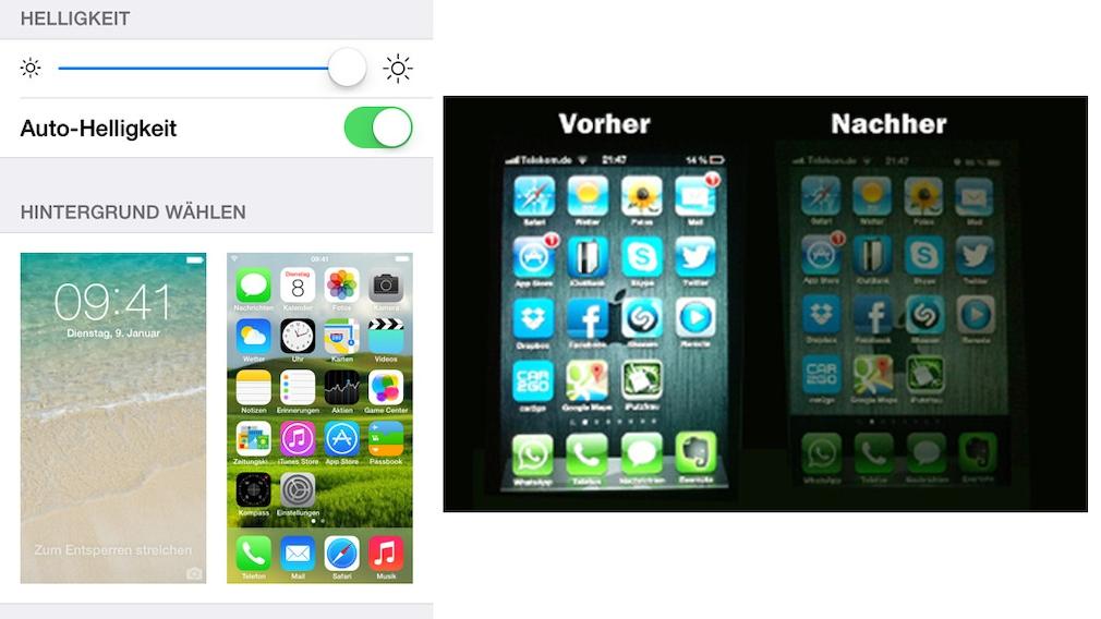 Auto-Helligkeit am iPhone perfekt einstellen
