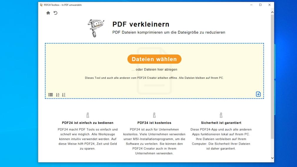PDF verkleinern: Diese Gratis-Programme helfen