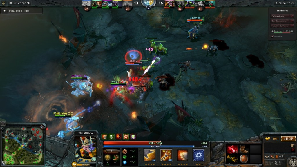 Screenshot 1 - Defense of the Ancients 2 (DotA 2)