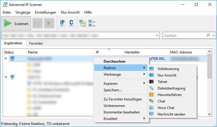 Advanced IP Scanner 2 5 3850 - Download - COMPUTER BILD