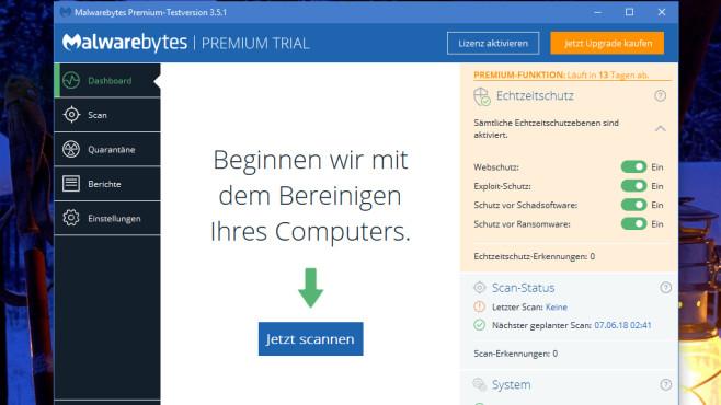 Malwarebytes Anti-Randomware: Erpresser-Software fernhalten ©COMPUTER BILD