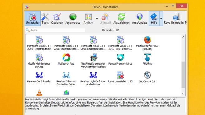 Revo Uninstaller: Programme ohne Rückstände ausradieren ©COMPUTER BILD