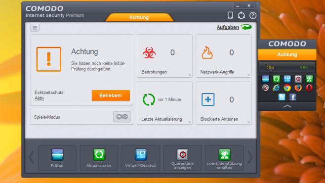 Security Suite: Virenschutz-Paket mit Firewall ©COMPUTER BILD