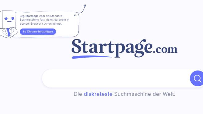 StartPage: Doppelt anonyme Suchmaschine ©COMPUTER BILD