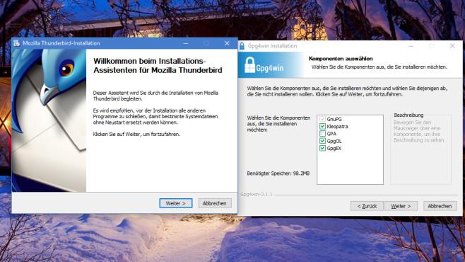 Thunderbird, Enigmail OpenPGP und Gpg4win: E-Mails sicher verschlüsseln ©COMPUTER BILD