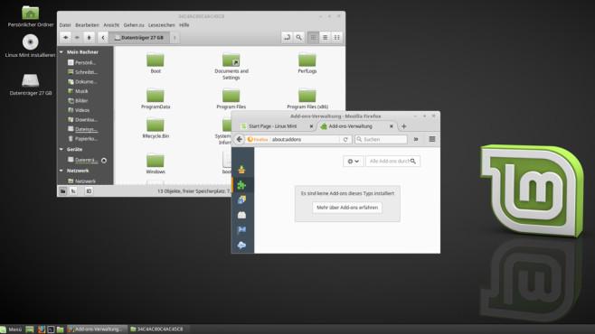 Linux Mint: Einsteigertaugliches Linux ©COMPUTER BILD