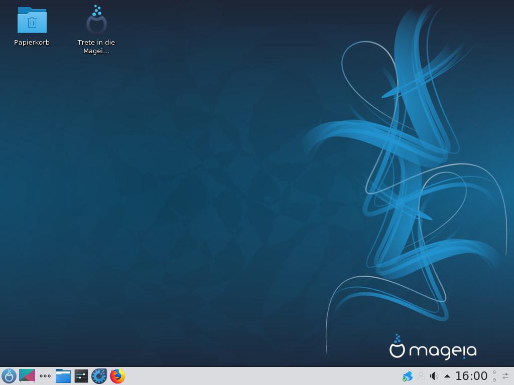 Screenshot 1 - Mageia (64 Bit)