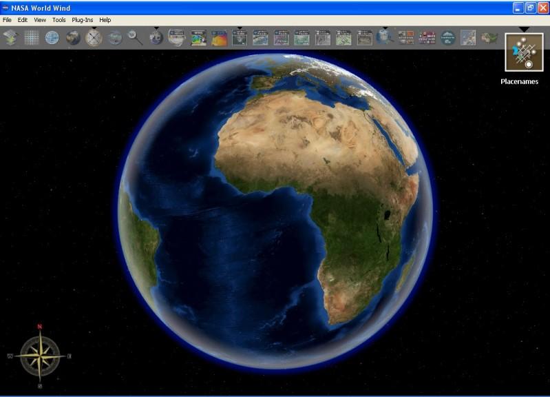 Screenshot 1 - NASA World Wind