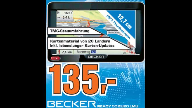 Becker Ready 50 EU20 LMU ©Saturn