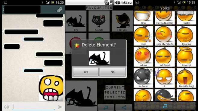 Emoticons xWhatsApp ©Art and Soul. Period