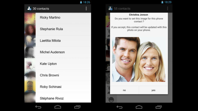WhatsApp Contact Photo Sync (kostenlos) ©Droid Experiment