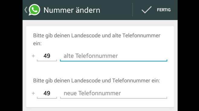 WhatsApp: Rufnummern wechseln und Kontakte mitnehmen ©COMPUTER BILD
