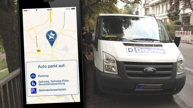 App Straßensheriff©Straßensheriff