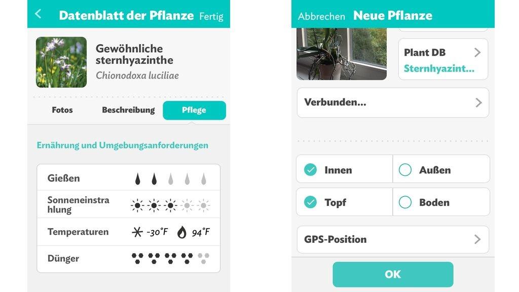 Parrot Flower Power App überwacht Pflanzen Computer Bild