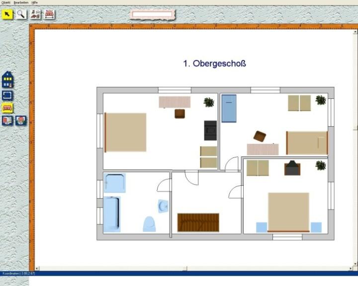 Screenshot 1 - Der Einrichtungsplaner