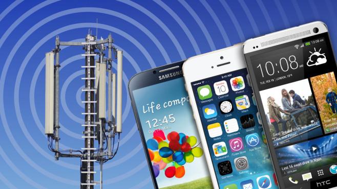 Strahlungsarme Handys©Apple, HTC, Samsung, Oliver-Boehmer - Fotolia