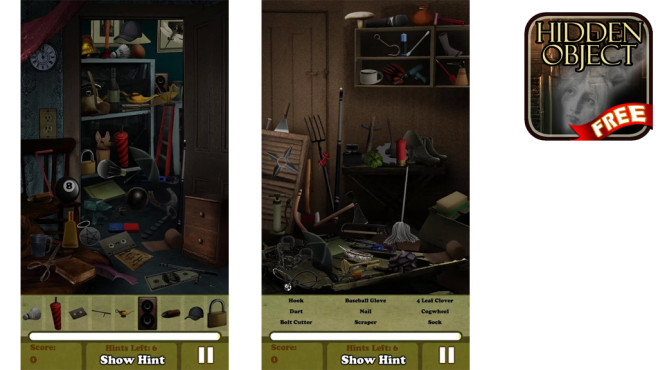 Hidden Objects - Haunted House ©Difference Games LLC