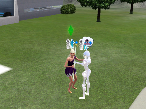 Sims 3 Into the Future©Electronic Arts
