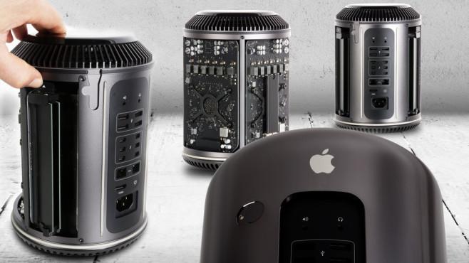 apple mac pro rechen gigant im dosenformat ist da. Black Bedroom Furniture Sets. Home Design Ideas