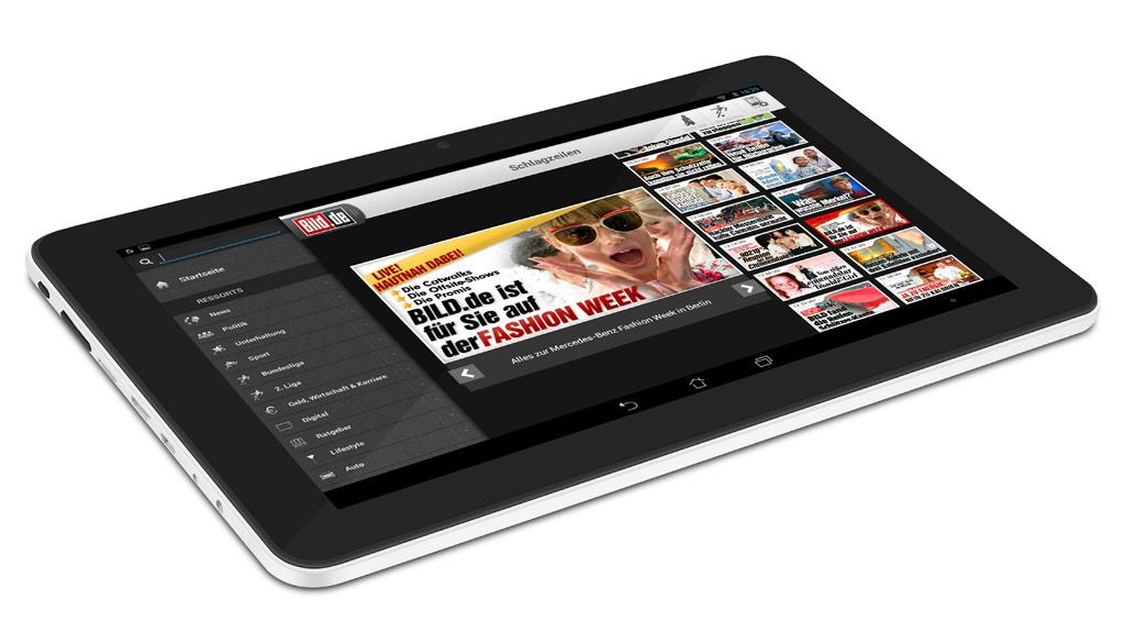 volks tablet trekstor und bringen 199 euro tablet. Black Bedroom Furniture Sets. Home Design Ideas