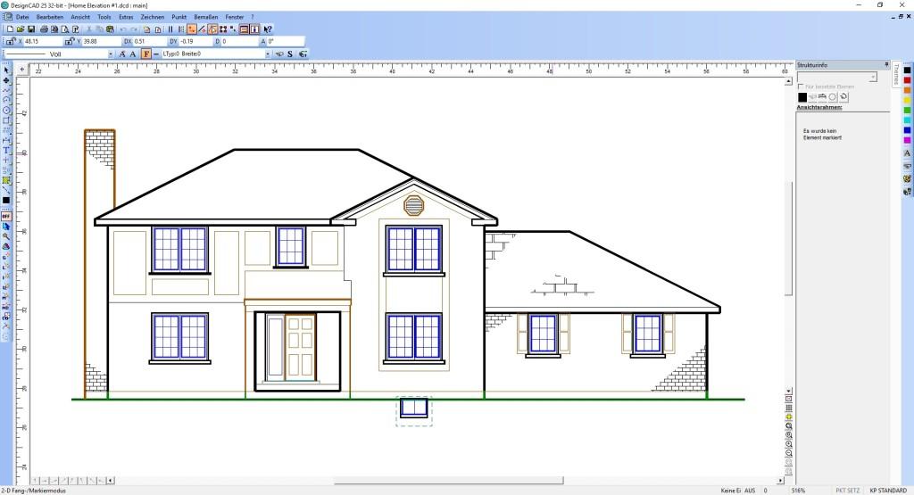 Screenshot 1 - DesignCAD
