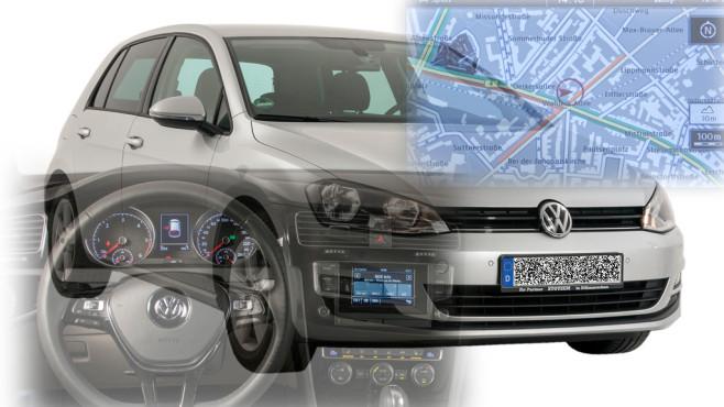 VW Golf VII©Horst Piezug / AUTO BILD