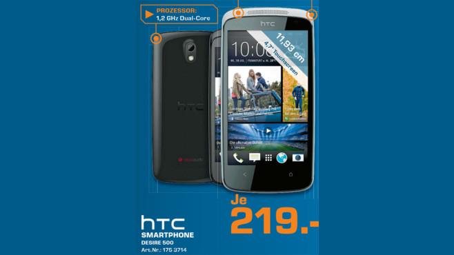 HTC Desire 500 ©Saturn