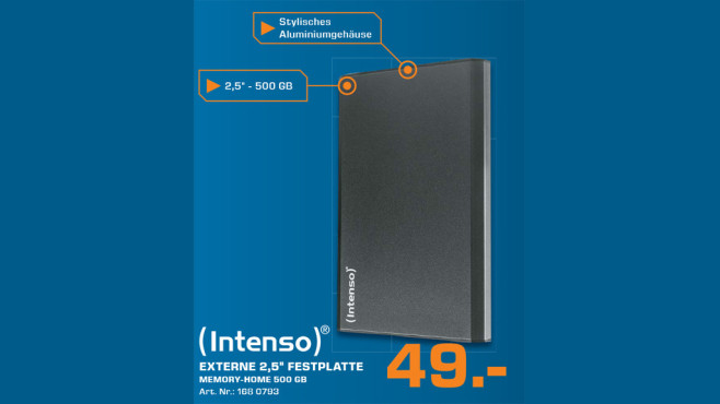 Intenso Memory-Home 500 ©Saturn
