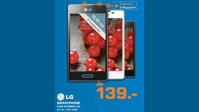 LG Optimus L5 II ©Saturn