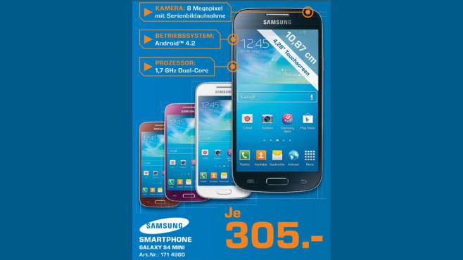 Samsung Galaxy S4 mini ©Saturn