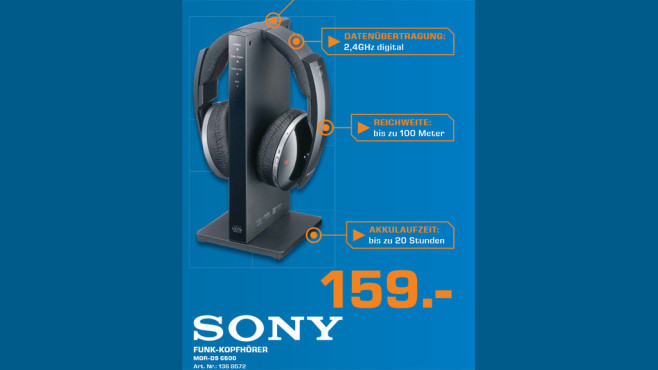Sony MDR-DS 6500 ©Saturn