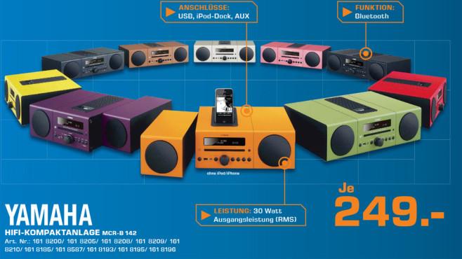 Yamaha HIFI-Kompaktanlage MCR-B 142 ©Saturn