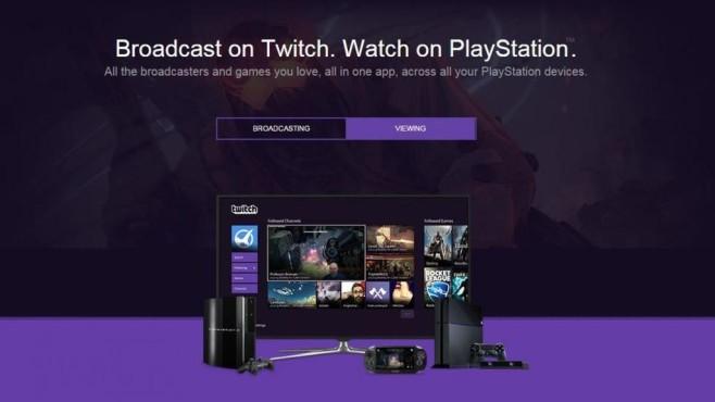 Twitch PlayStation App©Twitch.tv