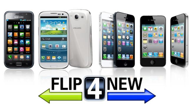 Flip4New-Logo©Apple, Samsung, Flip4New