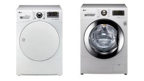 Trockner und Waschmaschine von LG©LG