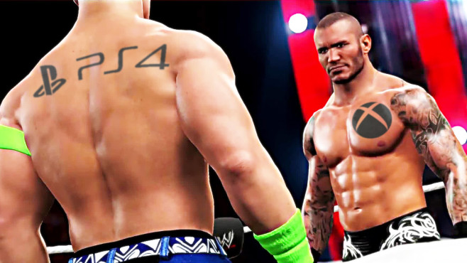 WWE 2k15 © Take-Two, Microsoft, Sony