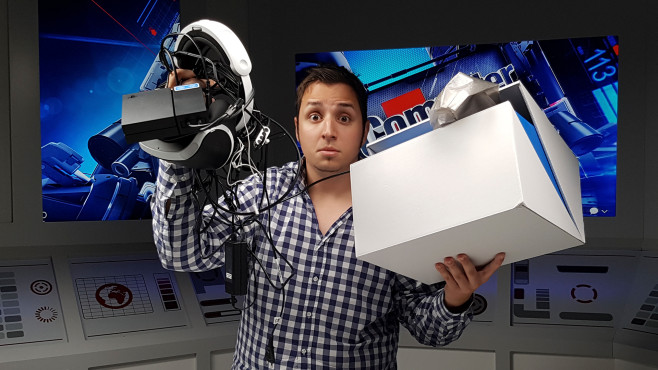 PlayStation VR©COMPUTER BILD