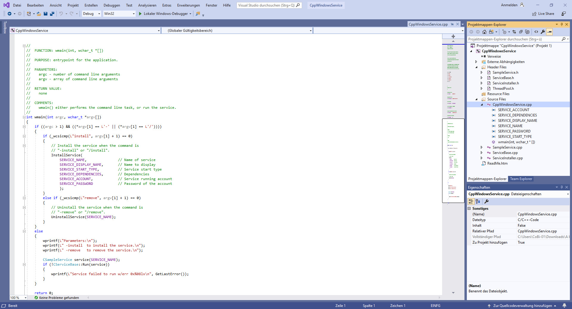 Screenshot 1 - Visual Studio Professional 2019