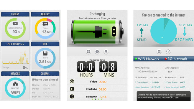 System Utility Dashboard ©AppHome
