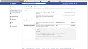 Profil vor Google verstecken©Facebook
