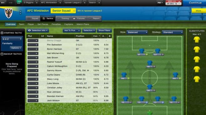 Football Manager 2013: Übersicht©Sega