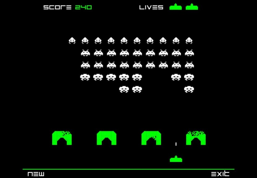 Screenshot 1 - Space Invaders